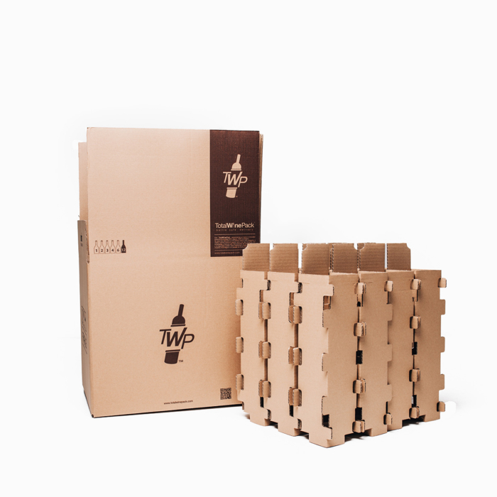 caja 12 sin botella standar total wine pack
