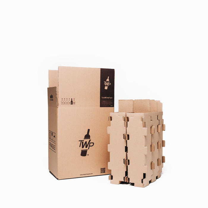 caja 12 botellas standar total wine pack
