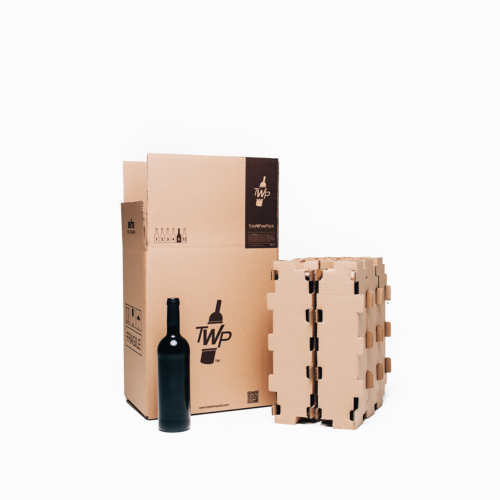 caja 6 botellas standar total wine pack