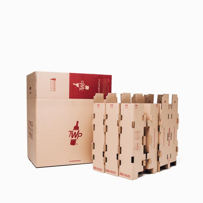 caja 12 botella duo total wine pack