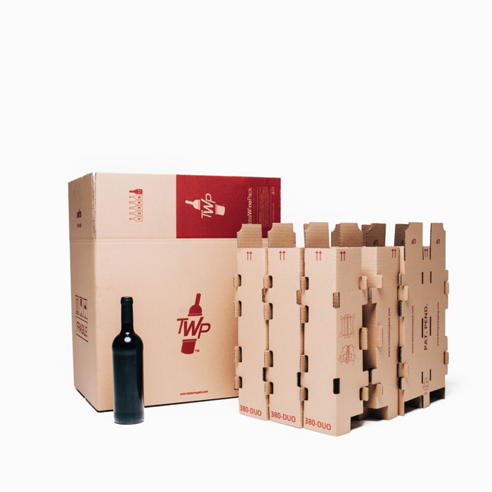 caja 12 botellas duo total wine pack