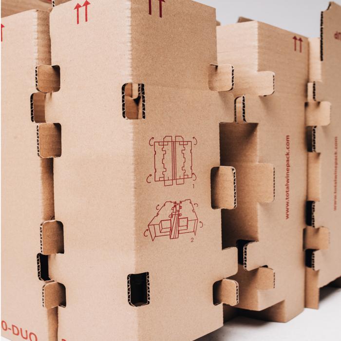 caja duo total wine pack