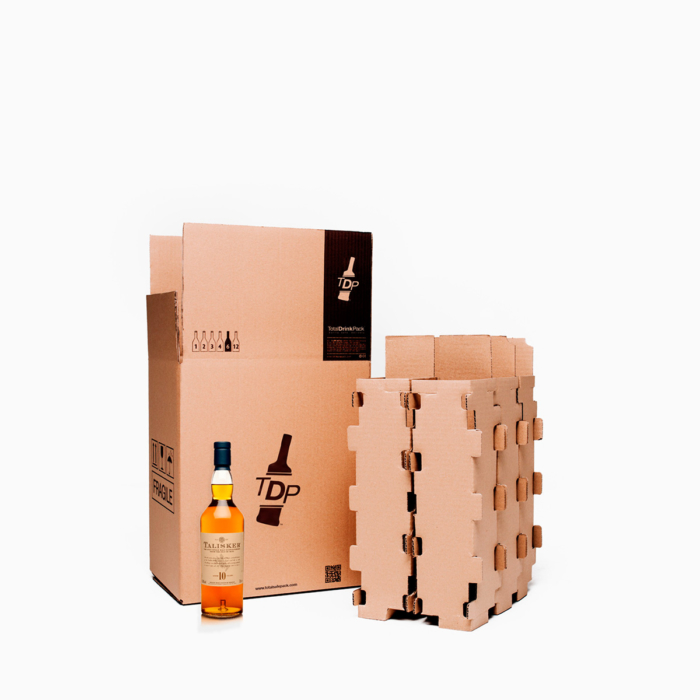 caja 6 botellas standard totaldrinkpack 75cl