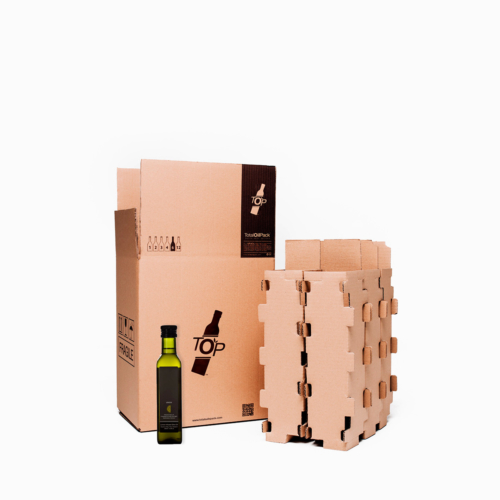 caja 6 botellas standard totaloilpack 33cl