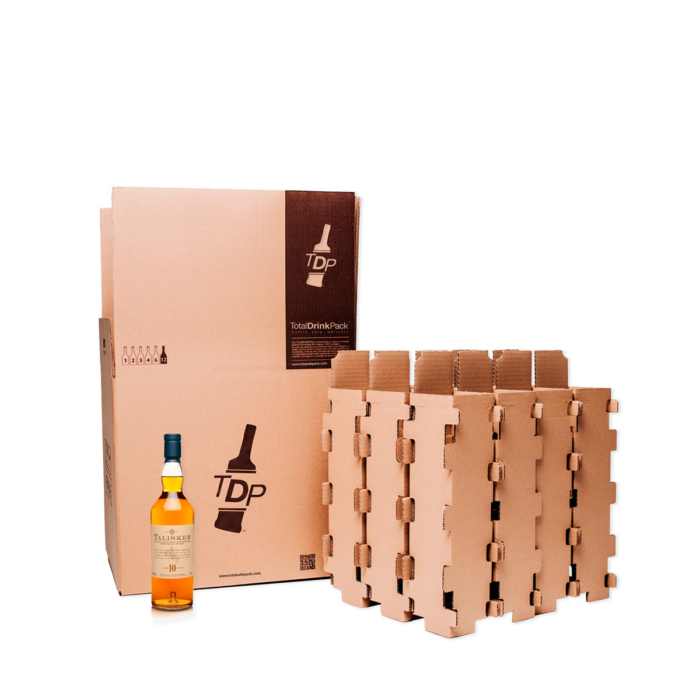 caja 12 botellas standard totaldrinkpack 75cl