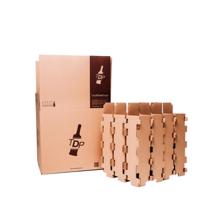 caja 6 botellas standard totaldrinkpack 75cl