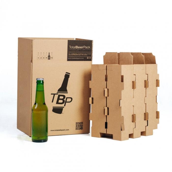 caja 6 botellas standard totalbeerpack 50cl