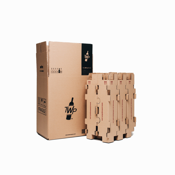 caja 6 sin botella premium totalwinepack