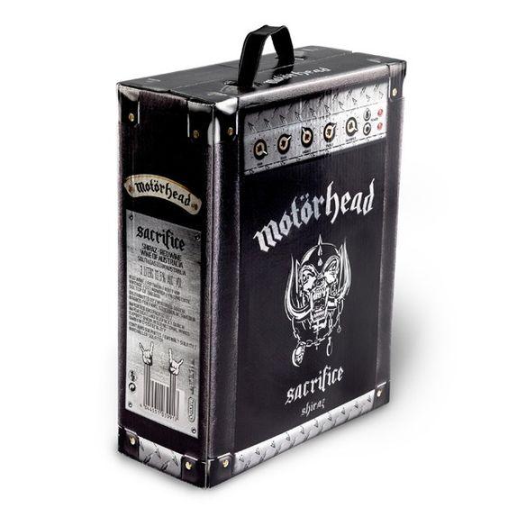 diseño cajas de vino motorhead