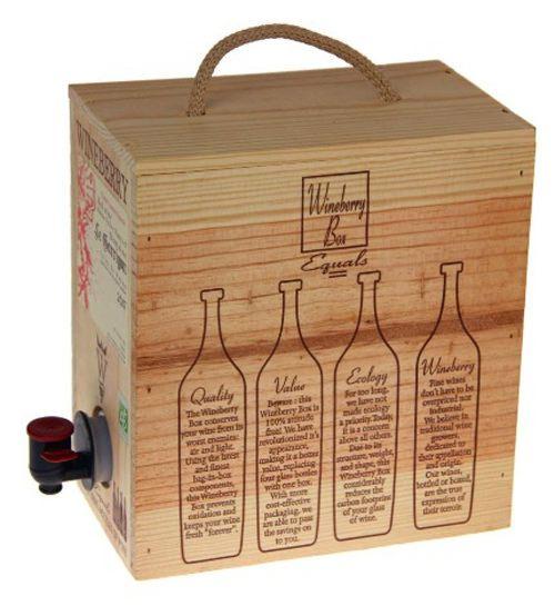 diseño cajas de vino wineberry