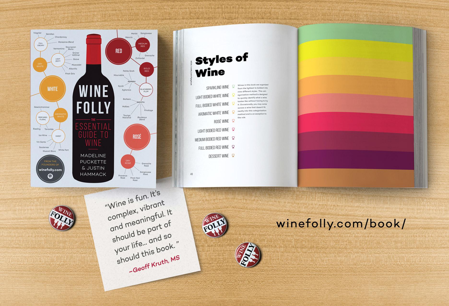libro wine folly - 4 libros para no aburrirte en la playa este verano