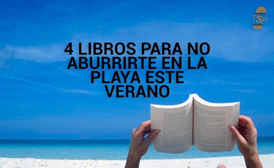summer reading totalsafepack - 4 libros para no aburrirte en la playa este verano