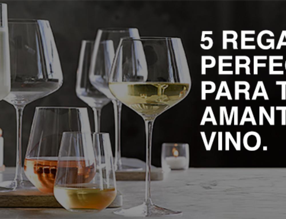 Los 5 regalos perfectos para todo amante del vino