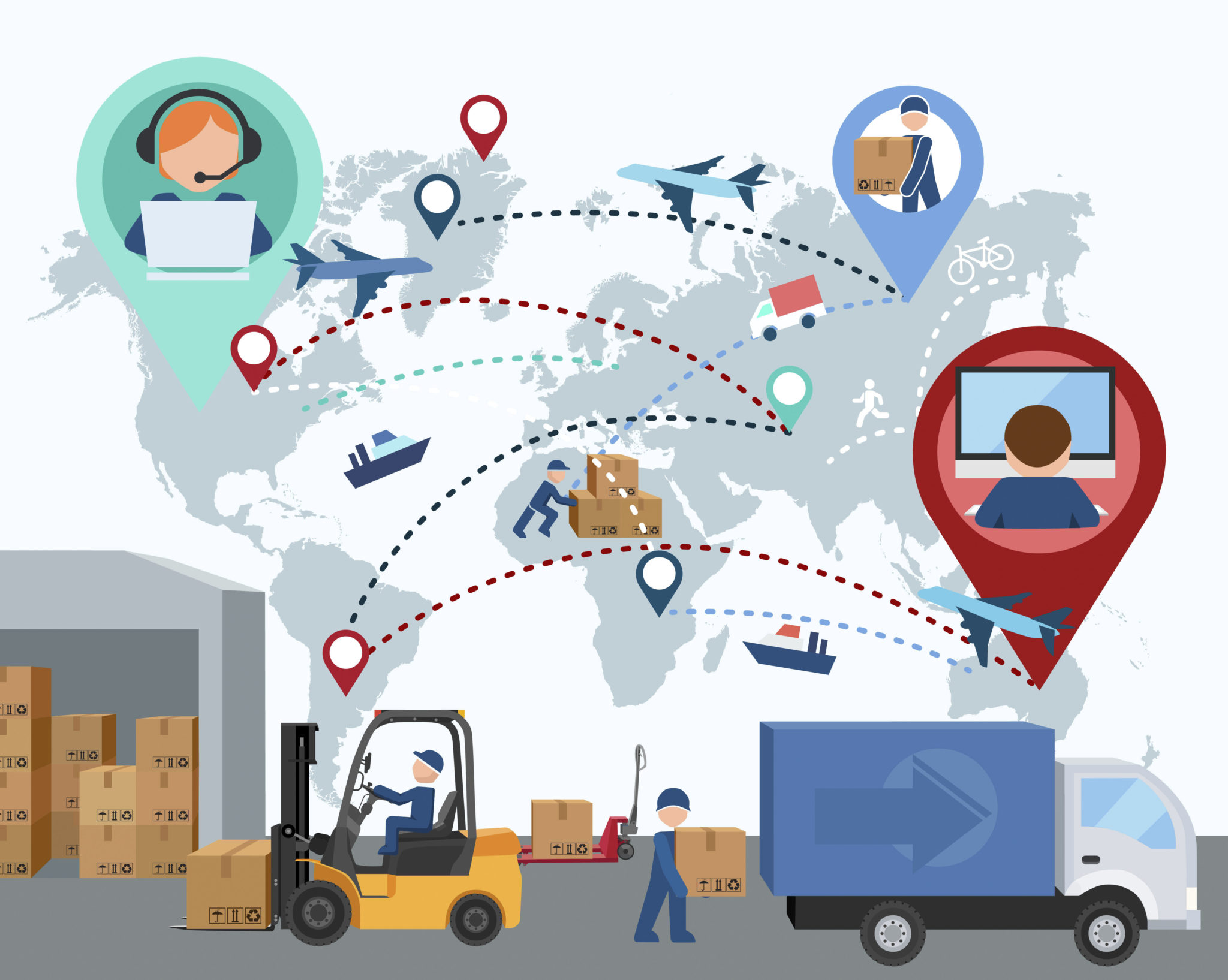 Cadena de Suministro 04 - ¿Qué es y cómo optimizar una cadena de suministro?