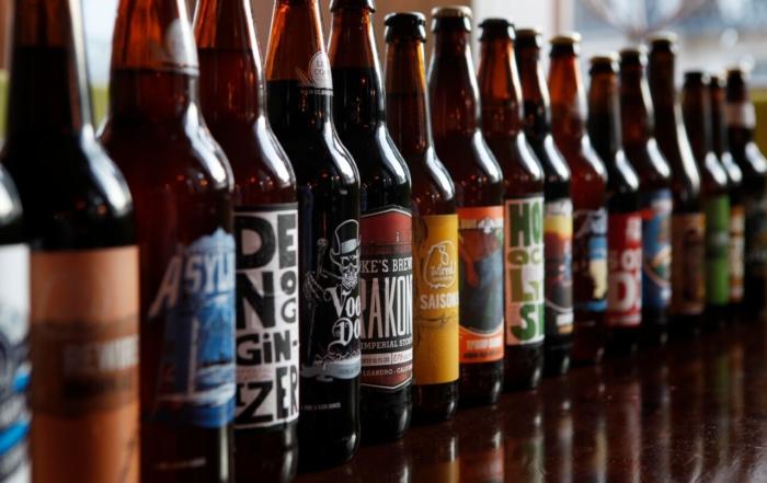envase para cerveza botellas