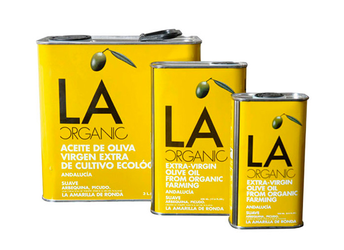 botella aceite de oliva LA-organic