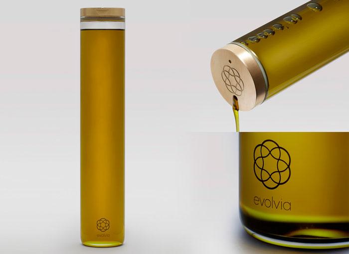 botella aceite de oliva evolvia