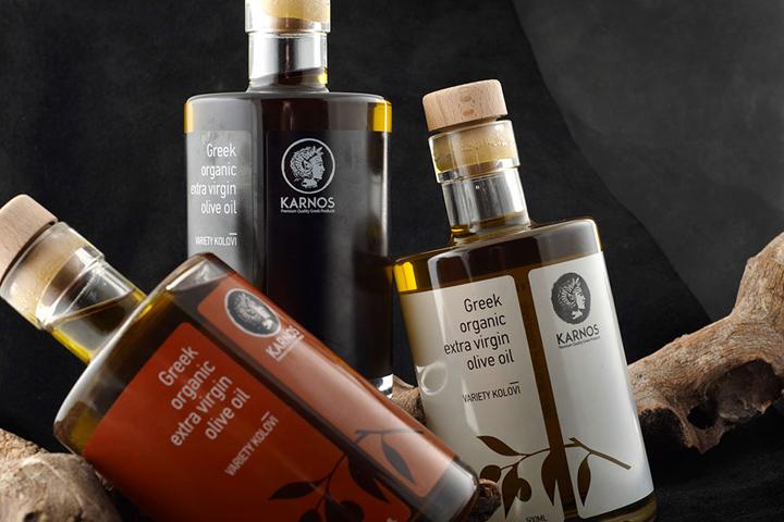 botella aceite de oliva karnos