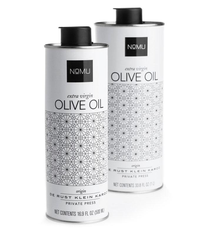botella aceite de oliva nomu - Ideas de diseño de packaging de botellas de aceite de oliva