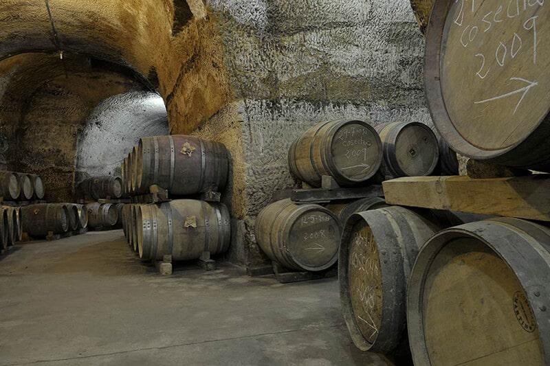 Barricas para el vino