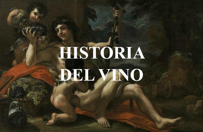 historia del vino