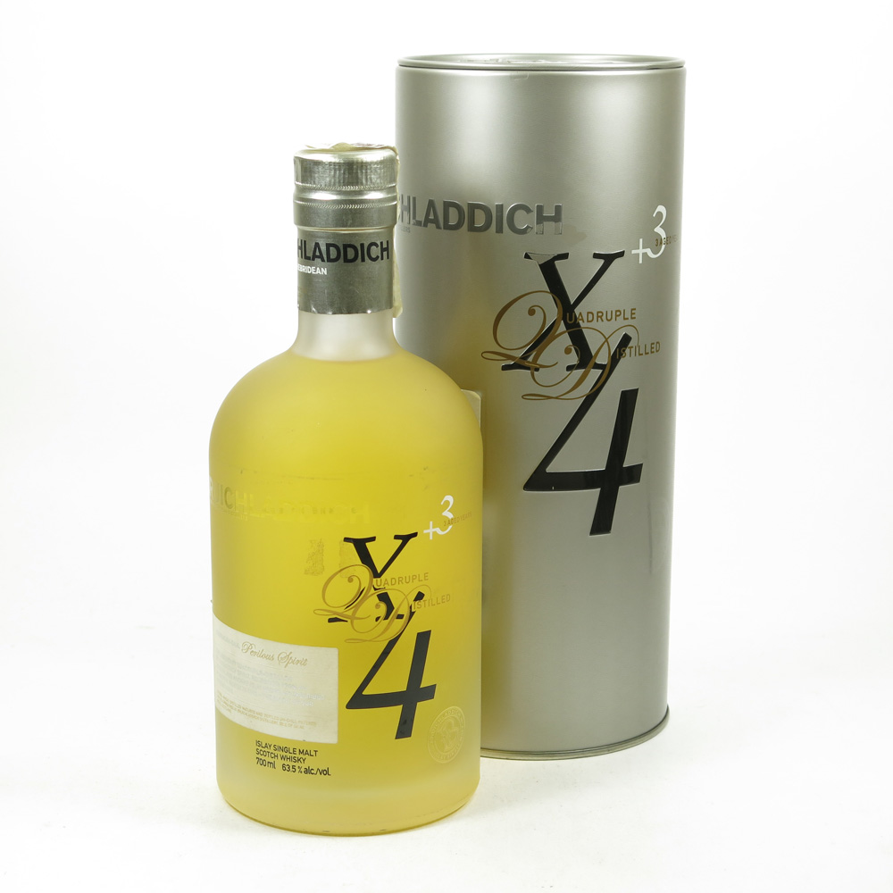 whisky Bruichladdich X4 Perilous