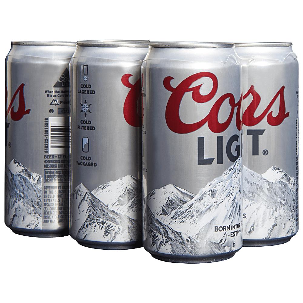 Cerveza Coors-Light