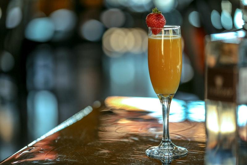 mimosa con Champagne